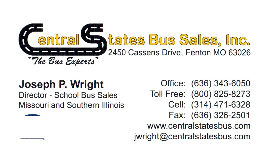 Missouri Association of Rural Education - Central State Bus